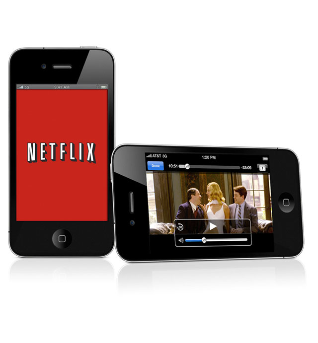 how to delete netflix account on iphone